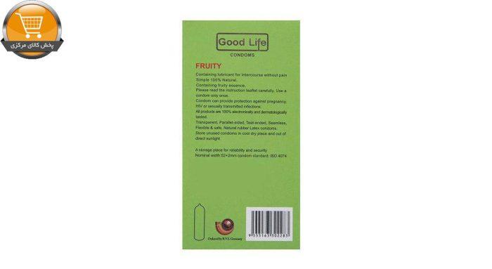 کاندوم گودلایف مدل Fruity بسته 12 عددی | پخش کالای مرکزی