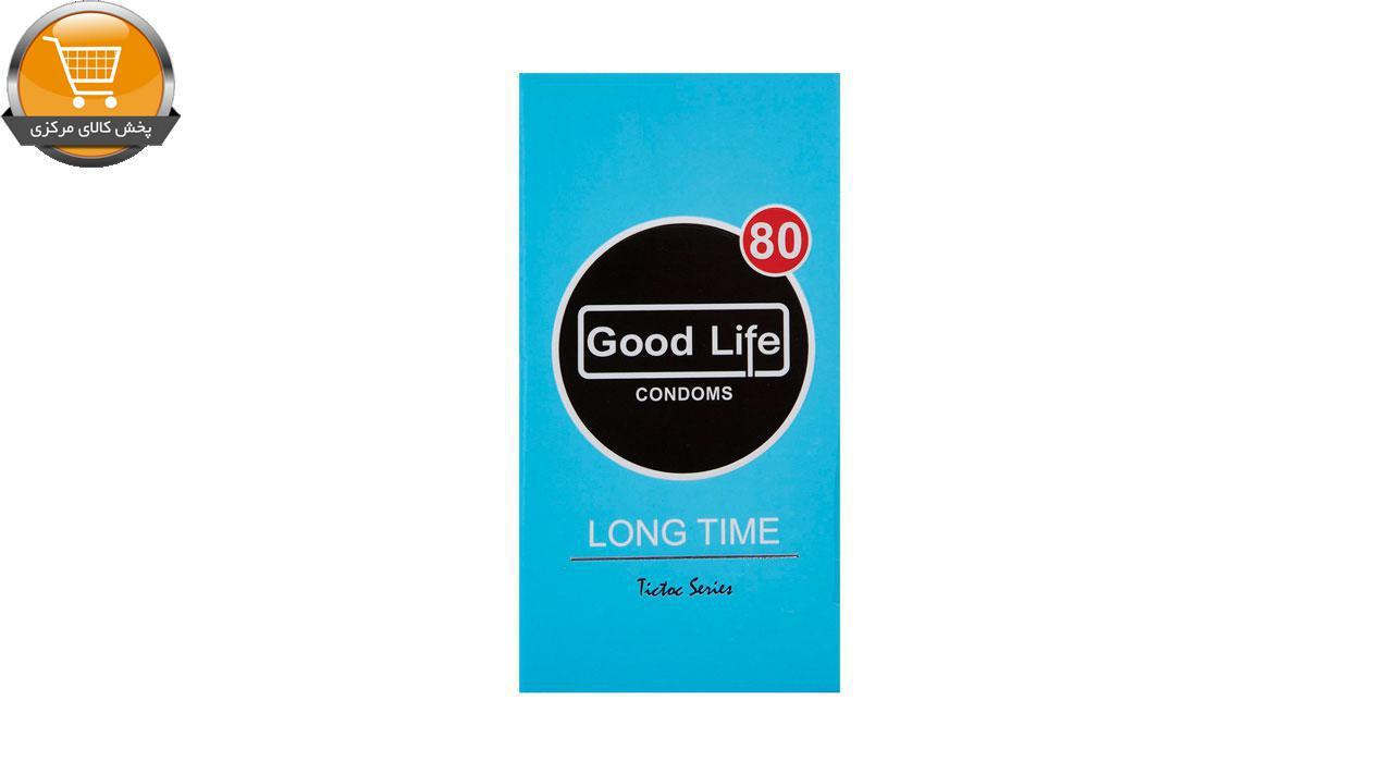 کاندوم گودلایف مدل Long Time B بسته 12 عددی | پخش کالای مرکزی