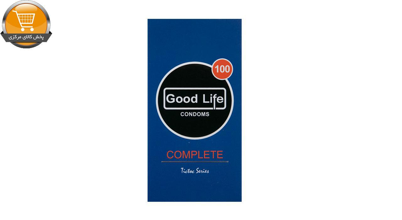 کاندوم گودلایف مدل Complete بسته 12 عددی | پخش کالای مرکزی