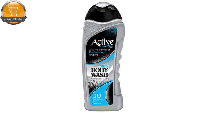 شامپو بدن مردانه اکتیو سری Sport مدل Silver مقدار 400 گرم | پخش کالاي مرکزي