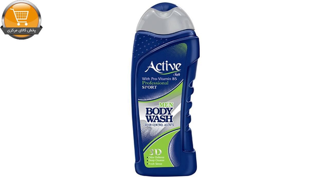 شامپو بدن مردانه اکتیو سری Sport مدل Blue مقدار 400 گرم   پخش کالاي مرکزي