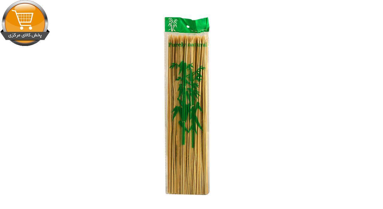 سیخ چوبی مدل 020 بسته 80 عددی | پخش کالای مرکزی