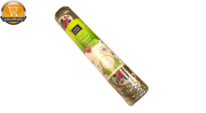 سفره یکبار مصرف کوالا مدل گل رز رول 25 متری | پخش کالای مرکزی
