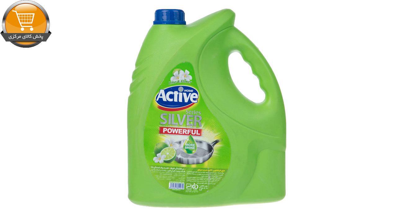 مایع ظرفشویی اکتیو مدل Lime and Flower مقدار 3750 گرم | پخش کالاي مرکزي