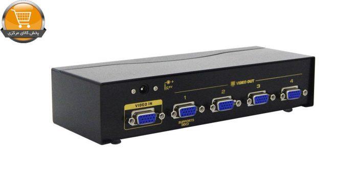 اسپلیتر VGA چهار پورت کی نت پلاس مدل KPS654 | پخش کالای مرکزی