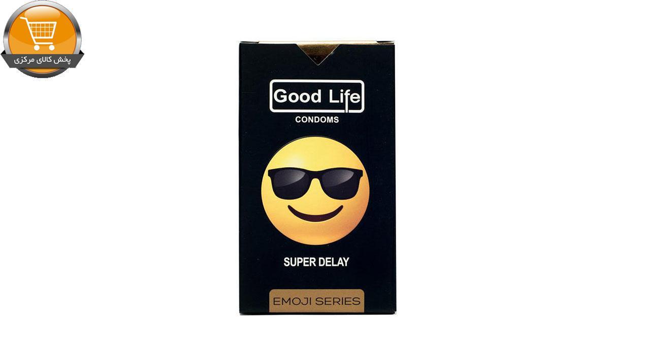 کاندوم گودلایف سری ایموجی مدل Super Delay بسته 6 عددی | پخش کالای مرکزی