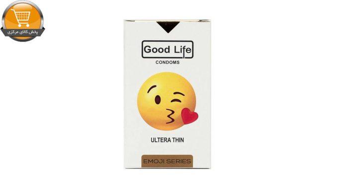 کاندوم گودلایف سری ایموجی مدل Ultera Thin بسته 6 عددی | پخش کالای مرکزی