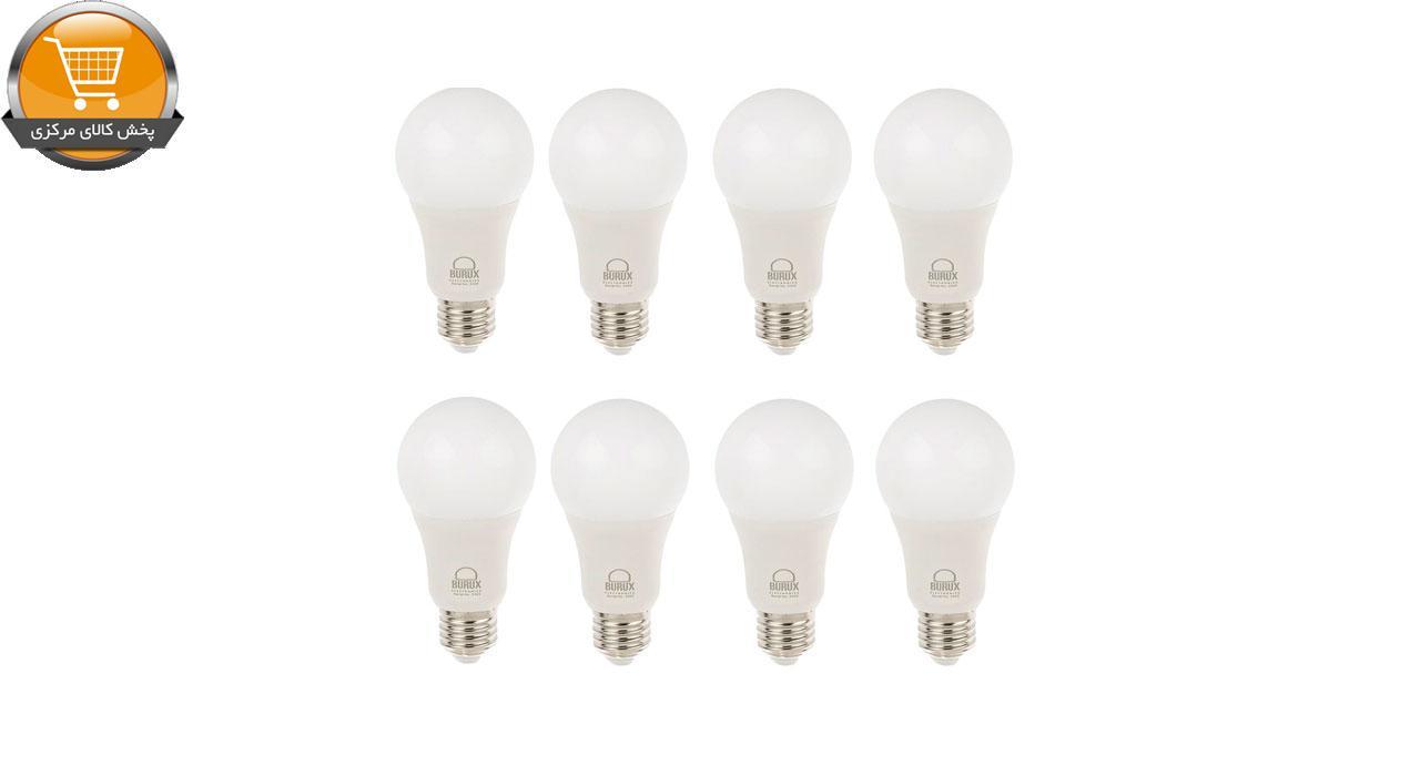 لامپ ال ای دی 10 وات بروکس پایه E27 بسته 8 عددی   پخش کالای مرکزی