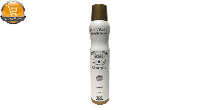 اسپری خوشبو کننده بدن زنانه بادی کر مدل Coco Chanel حجم 200 میلی لیتر | پخش کالای مرکزی