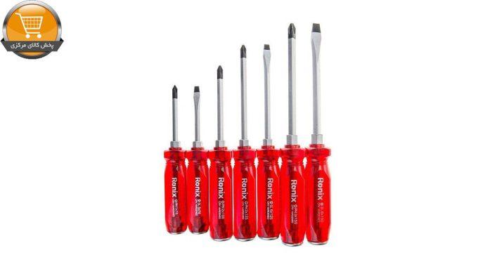 مجموعه 7 عددی پیچ گوشتی رونیکس مدل RH-2906 | پخش کالای مرکزی