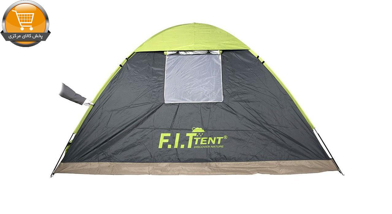 چادر مسافرتی 12 نفره اف آی تی تنت مدل Double Roof T44 | پخش کالای مرکزی