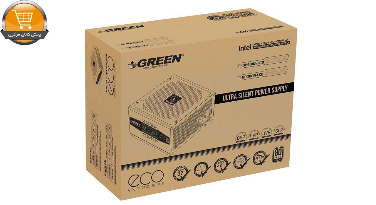 منبع تعذیه کامپیوتر مدل GP300A-ECO | پخش کالای مرکزی