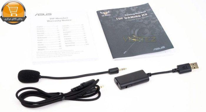 هدست مخصوص بازی ایسوس مدل TUF Gaming H5 | پخش کالای مرکزی