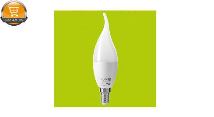 لامپ ال ای دی 7 وات امیران مدل اشکی پایه E14 | پخش کالای مرکزی