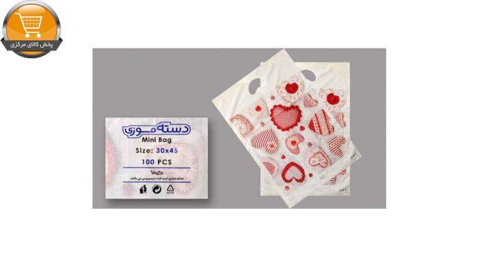 کیسه خرید کوالا مدل 003 بسته 100 عددی | پخش کالای مرکزی