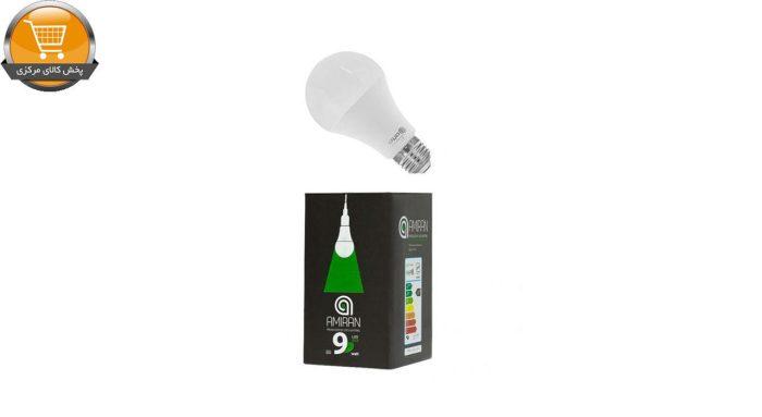 لامپ ال ای دی 9 وات امیران کد 601 پایه E27   پخش کالای مرکزی