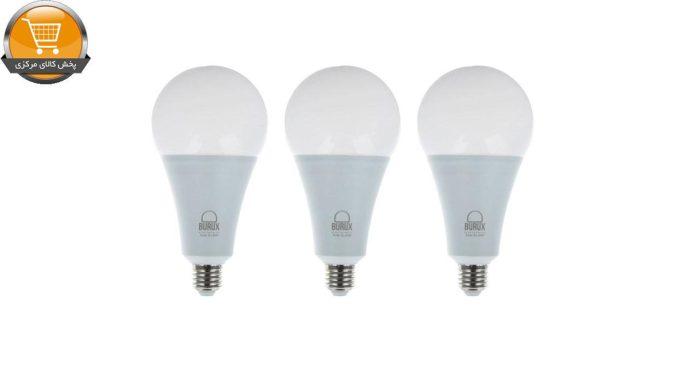 لامپ ال ای دی 15 وات بروکس مدل A70 پایه E27 بسته 3 عددی | پخش کالای مرکزی