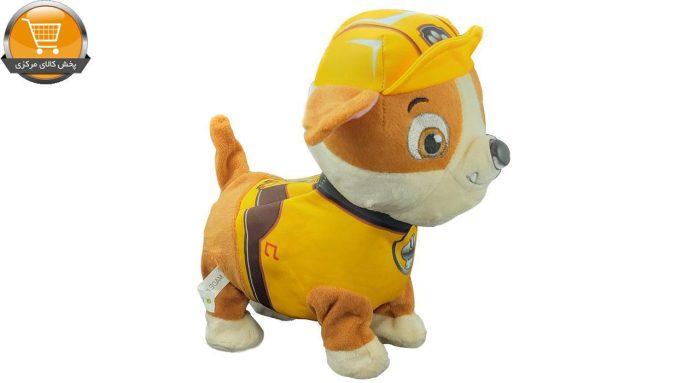 عروسک سگ نگهبان مدل 7408 ارتفاع 21 سانتی متر | پخش کالای مرکزی