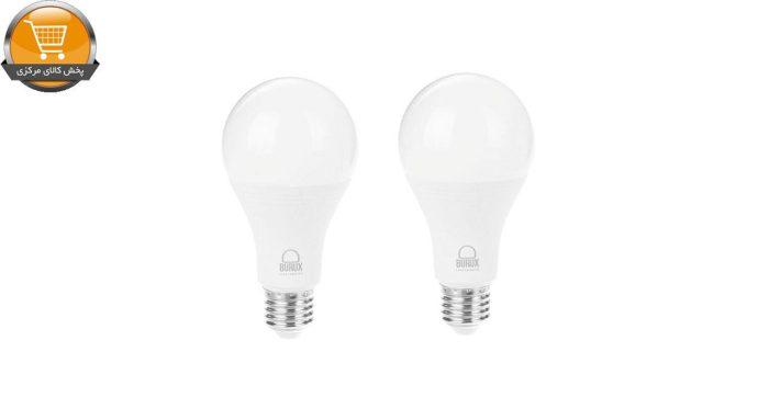 لامپ ال ای دی 15 وات بروکس مدل A70 پایه E27 بسته 2 عددی | پخش کالای مرکزی