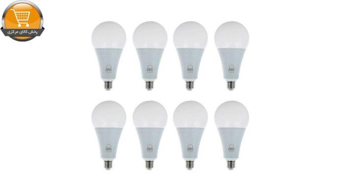 لامپ ال ای دی 15 وات بروکس مدل A70 پایه E27 بسته 8 عددی | پخش کالای مرکزی
