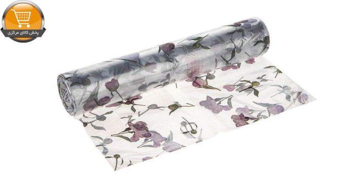 سفره یکبار مصرف کوالا مدل کریستال طرح گل رول 10 متری | پخش کالای مرکزی