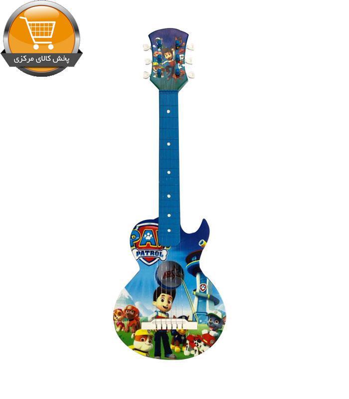 بازی آموزشی طرح گیتار آبی سگ نگهبان مدل 3707-1 | پخش کالای مرکزی