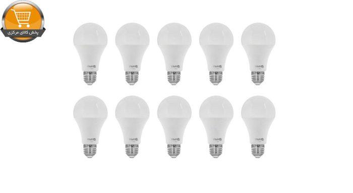 لامپ ال ای دی 20 وات امیران کد 605 پایه E27 بسته 10 عددی | پخش کالای مرکزی