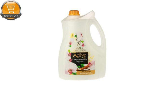 مایع دستشویی اکتیو مدل Orchid & Cinnamon مقدار 3.75 کیلوگرم | پخش کالای مرکزی