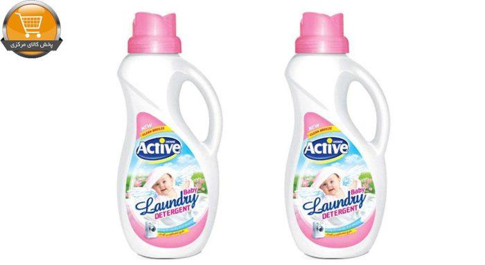 مایع لباسشویی اکتیو مدل white Baby مجموعه 2 عددی | پخش کالای مرکزی