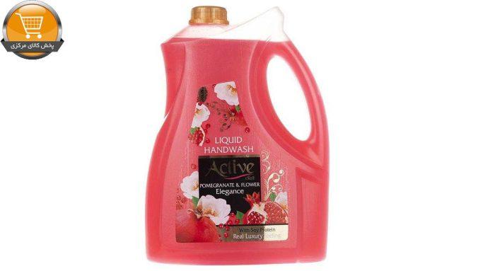مایع دستشویی اکتیو مدل Pomegranate & Flower مقدار 3750 گرم | پخش کالای مرکزی