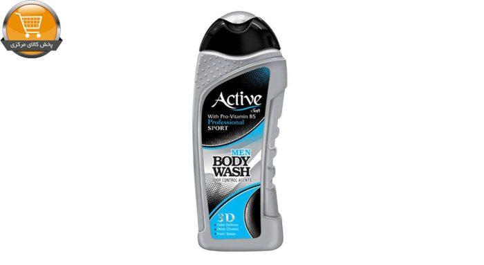 شامپو بدن مردانه اکتیو سری Sport مدل Silver مقدار 400 گرم   پخش کالای مرکزی