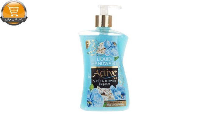 مایع دستشویی اکتیو مدل Shell & Flower مقدار 450 گرم | پخش کالای مرکزی