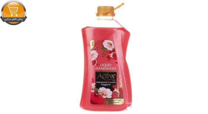 مایع دستشویی اکتیو مدل Pomegranate & Flower مقدار 2500 گرم | پخش کالای مرکزی