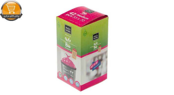 کیسه زباله کوالا مدل SAT683 بسته 42 عددی | پخش کالای مرکزی