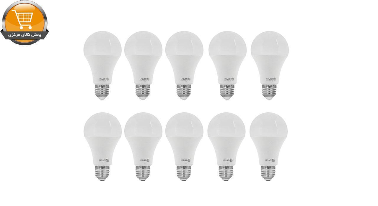 لامپ ال ای دی 9 وات امیران کد 601 پایه E27 بسته 10 عددی | پخش کالای مرکزی