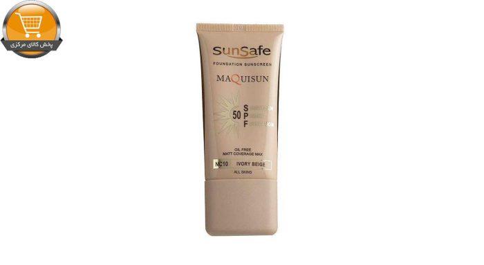 کرم ضد آفتاب رنگی سان سیف مدل NC10 مقدار 40 گرم | پخش کالای مرکزی