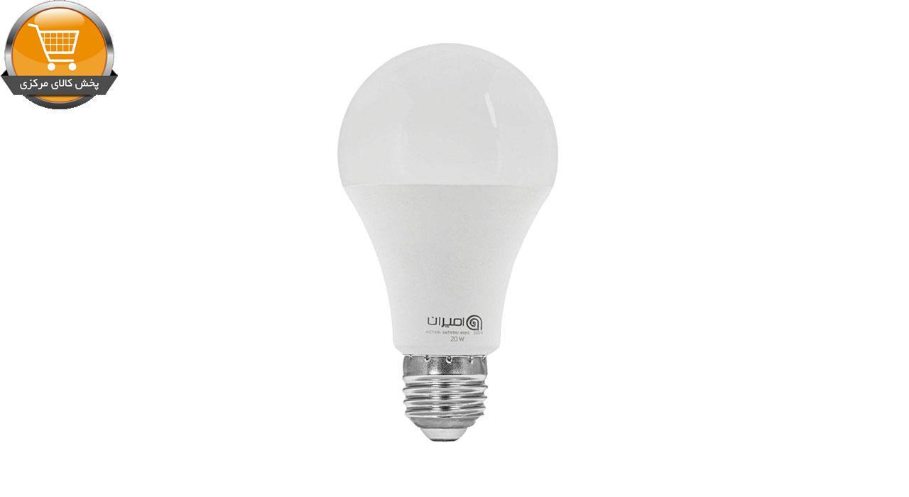 لامپ ال ای دی 20 وات امیران کد 605 پایه E27 بسته 3 عددی   پخش کالای مرکزی