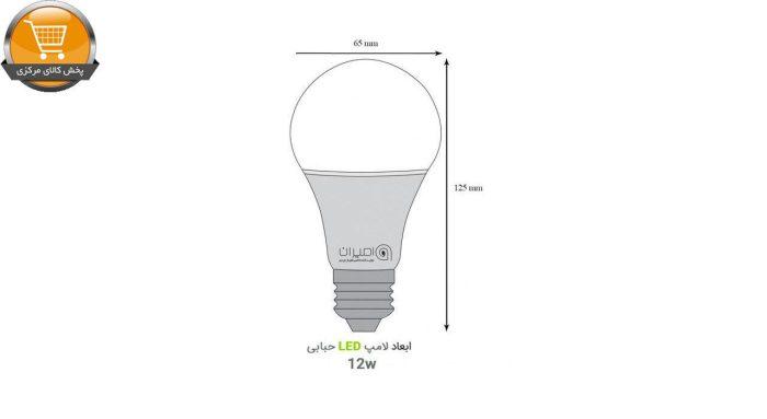 لامپ ال ای دی 12 وات امیران کد 602 پایه E27 بسته 10 عددی | پخش کالای مرکزی