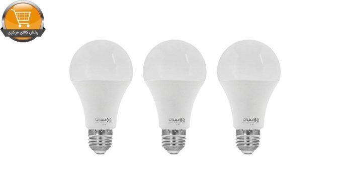 لامپ ال ای دی 9 وات امیران کد 601 پایه E27 بسته 3 عددی | پخش کالای مرکزی