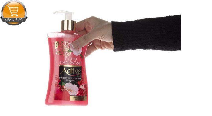 مایع دستشویی اکتیو مدل Pomegranate & Flower مقدار 450 گرم | پخش کالای مرکزی