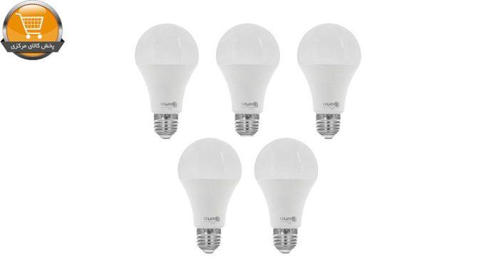 لامپ ال ای دی 9 وات امیران کد 601 پایه E27 بسته 5 عددی | پخش کالای مرکزی
