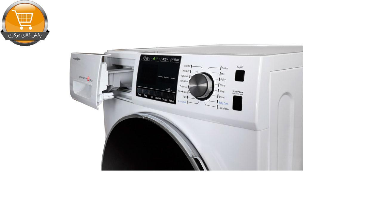 ماشین لباسشویی پاکشوما مدل TFU-84401 ظرفیت 8 کیلوگرم | پخش کالای مرکزی