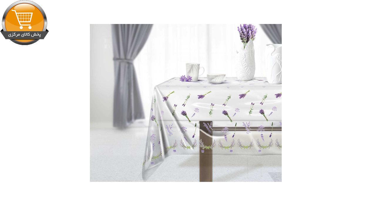 سفره یکبار مصرف کوالا مدل lavender رول 25 متری | پخش کالای مرکزی