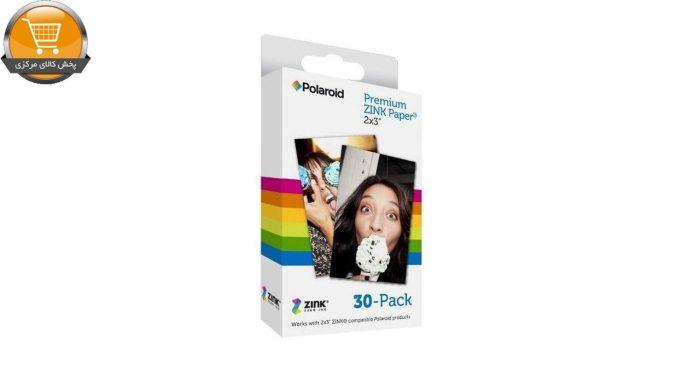 کاغذ چاپ سریع پولاروید مدل Premium ZINK بسته 30 عددی | پخش کالای مرکزی
