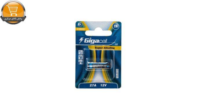 باتری 27A گیگاسل مدل Super Alkaline بسته 1 عددی | پخش کالای مرکزی
