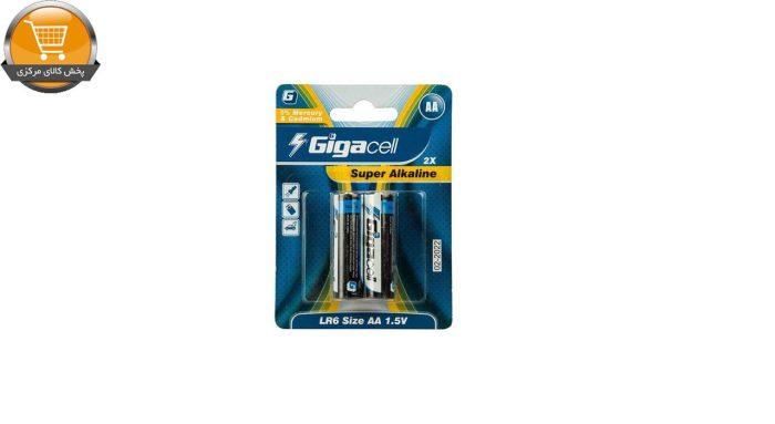باتری قلمی گیگاسل مدل Super Alkaline - بسته 2 عددی | پخش کالای مرکزی