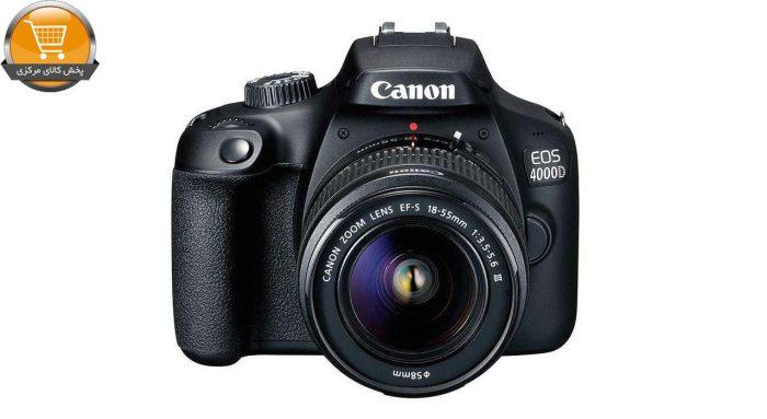 دوربین دیجیتال کانن مدل EOS 4000D به همراه لنز 18-55 میلی متر DC III | پخش کالای مرکزی