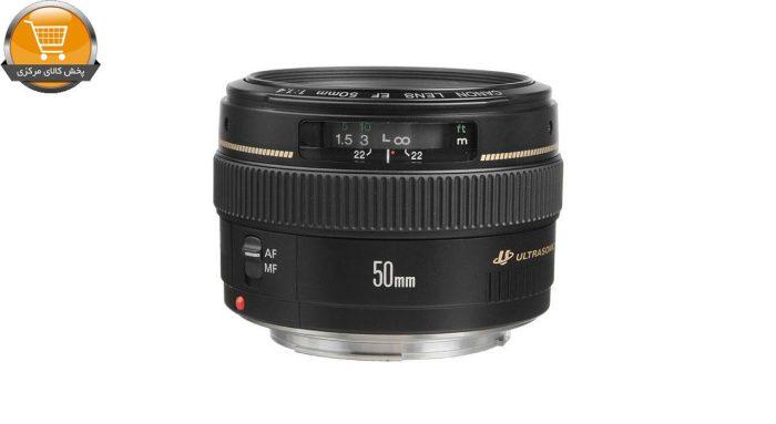 لنز کانن مدل EF 50mm f-1.4 USM | پخش کالای مرکزی