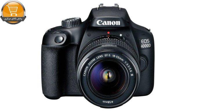 دوربین دیجیتال کانن مدل EOS 4000D به همراه لنز 18-55 میلی متر IS II | پخش کالای مرکزی