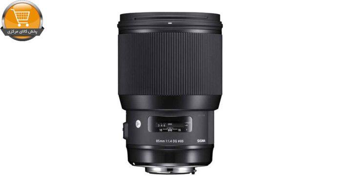 لنز سیگما مدل 85mm f/1.4 DG HSM Art for Nikon Cameras Lens | پخش کالای مرکزی